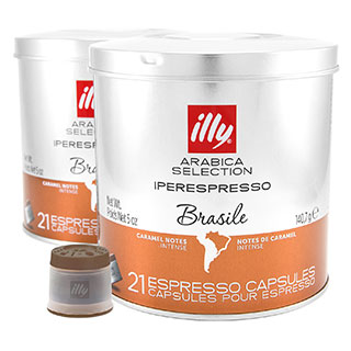 Illy IperEspresso Brasile купить